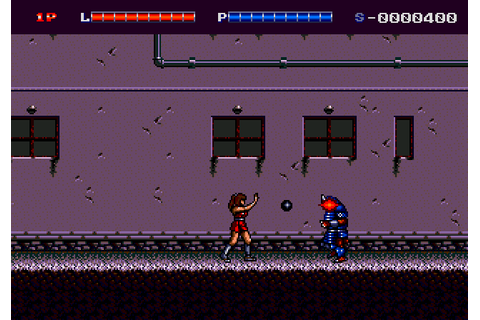 Shadow Blasters (1990) by Cyclone System Mega Drive game