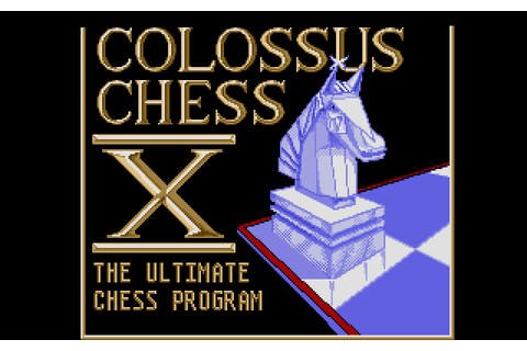 Colossus Chess X (1988) by CDS Software Atari ST game