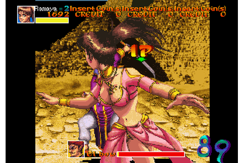 Arabian Fight (1992) by Sega Arcade game