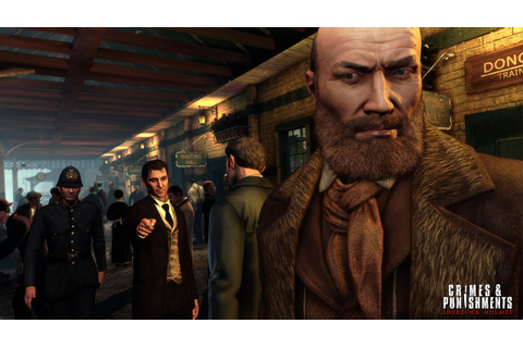 Crimes & Punishments screenshots show Sherlock Holmes ...