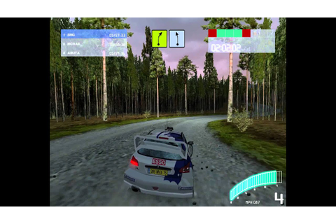 Colin McRae Rally 2.0 (2001) (PC) (Gameplay and Replay ...