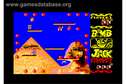 Bomb Jack - Amstrad CPC - Games Database