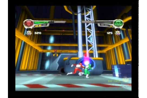 Power Rangers Super Legends PS2 Multiplayer Gameplay ...