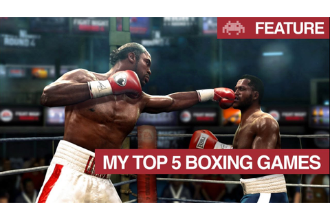 My Top 5 Boxing Games | Best Boxing Video Games - YouTube