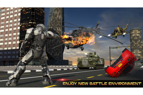 Futuristic Robot Battle - Android Apps on Google Play