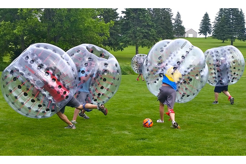 Bubble-Soccer Party - Bubble Smash Sports | Groupon