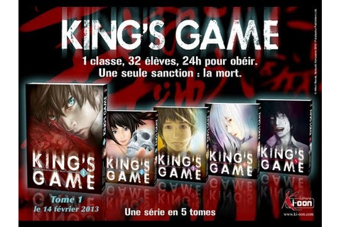 Revue Manga [Episode 1] : King's Game - YouTube
