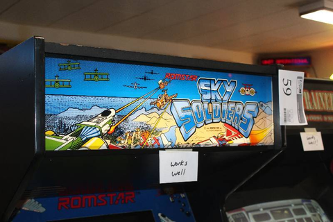 Sky Soldiers Arcade Game | Maple Lake Video Game Surplus ...