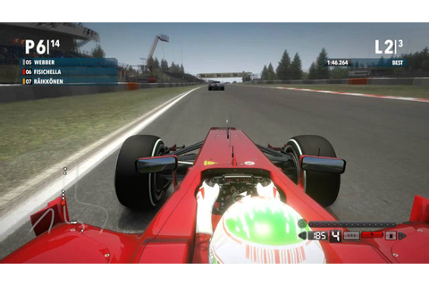 F1 2009 The Game - G. Fisichella Onboard @ Nürbürgring ...