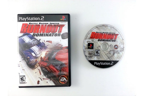 Burnout Dominator game for Playstation 2 | The Game Guy