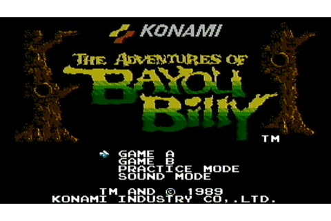 Adventures of Bayou Billy - NES Gameplay - YouTube