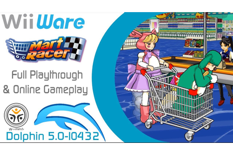 [Dolphin 5.0-10432] Mart Racer Full Playthrough & Online ...