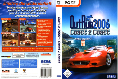 Outrun 2006 Coast 2 Coast PC Game | PC Network - Pc Network