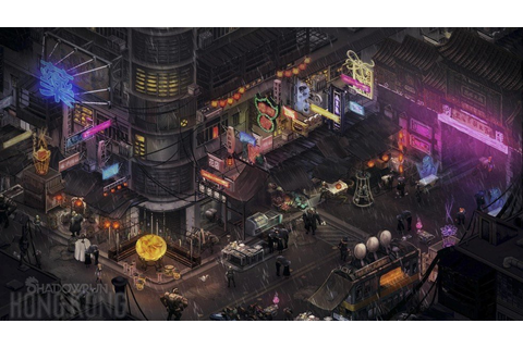 In Shadowrun: Hong Kong, the city finally gets the video ...