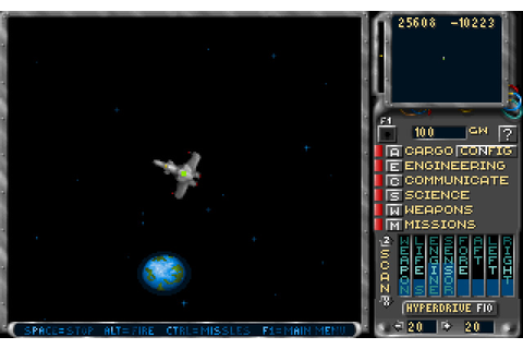 Download Solar Winds 2: Galaxy shooter for DOS (1993 ...