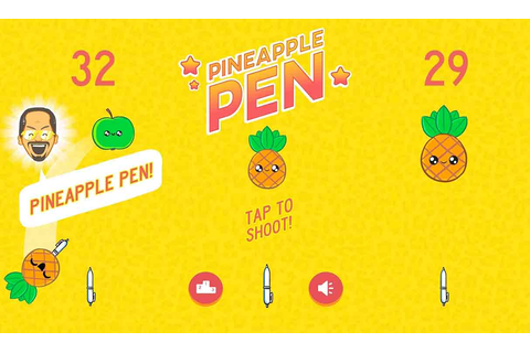 Game Review: Pineapple Pen (Mobile - Free to Play) - Games, Brrraaains ...