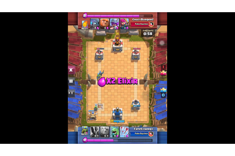 Clash Royale Game mechanics and Friendly Battle - YouTube