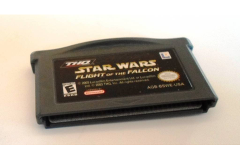 STAR WARS FLIGHT OF THE FALCON for Game Boy Advance GBA ...