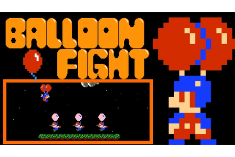Balloon Fight (FC/NES) - YouTube