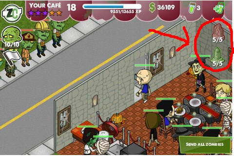 Zombie Cafe 1.1.0 Update includes Awesome Graveyard ...