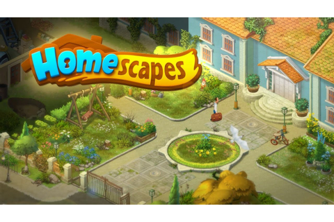 Homescapes: Your home is your puzzle! - YouTube