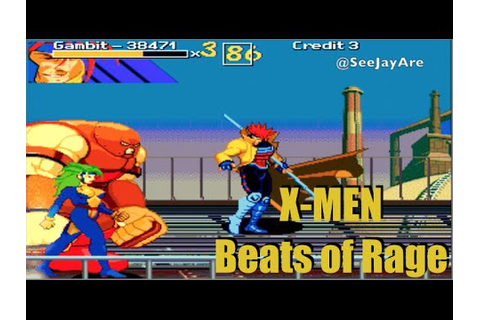 X-Men Beats of Rage - The First 20 - HD Dreamcast Gameplay ...