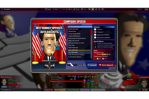 The Political Machine 2012 Screenshots - Video Game News ...