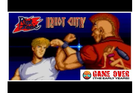Game Over: Riot City & Riot Zone (Arcade & TurboGrafx-16 ...