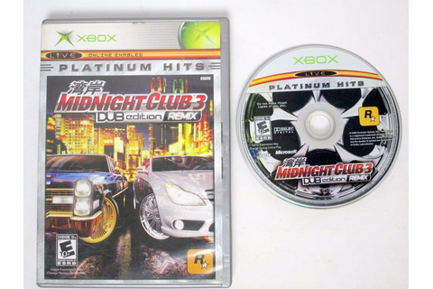 Midnight Club 3 Dub Edition Remix game for Xbox | The Game Guy