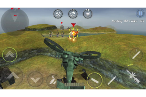 GUNSHIP BATTLE : Helicopter 3D Android Gameplay - YouTube