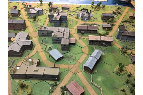 Advanced Squad Leader with miniatures in 2019 | Map games ...