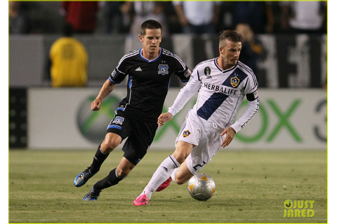Full Sized Photo of david beckham soccer game 06 | Photo ...