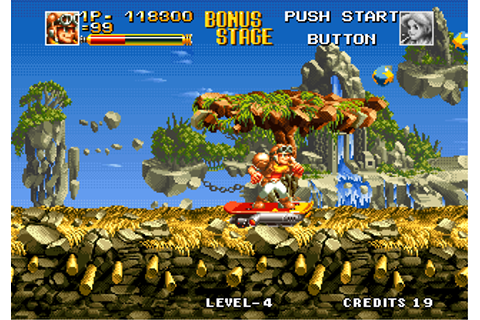 Top Hunter: Roddy & Cathy Screenshots for Neo Geo - MobyGames