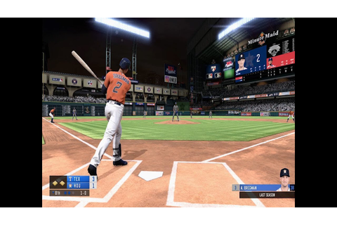 R.B.I. Baseball 19 Gameplay Trailer - YouTube