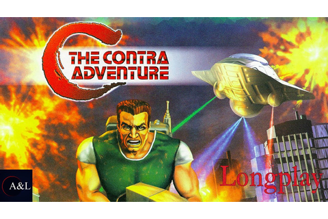 C - The Contra Adventure - Longplay [5K] - YouTube