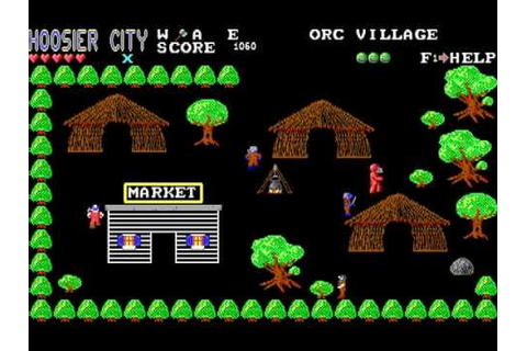 Hoosier City 1 : Assault of the Orcs (Dos game 1992) - YouTube