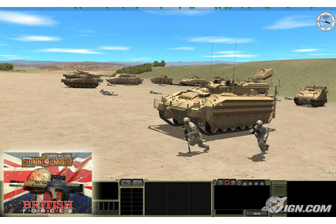 Combat Mission Shock Force--British Forces Screenshots ...