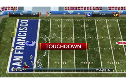 Tecmo Bowl Throwback Online Gameplay - YouTube