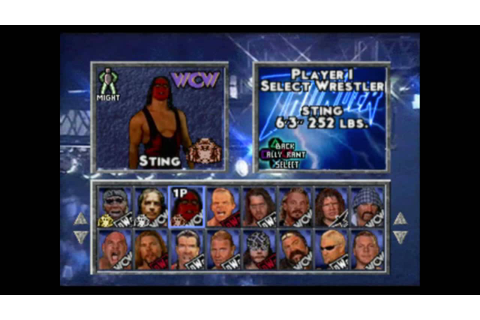 WCW / nWo Thunder PSX Review - YouTube