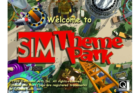 Theme Park World Download - Old Games Download