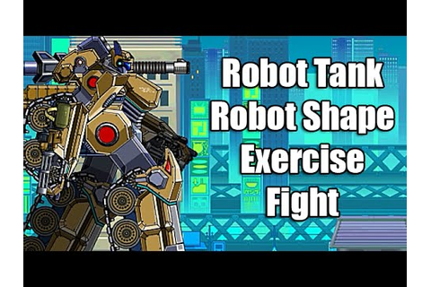 Robot Tank - Robot Shape - Installation Pieces - Exercise ...