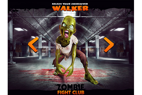 Zombie Fight Club - The Game on App Design Served