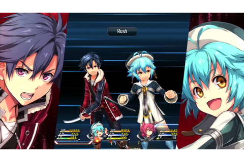 The Legend of Heroes Trails of Cold Steel II Gameplay ...