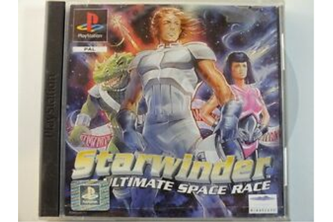 Playstation PS1 Game STARWINDER THE ULTIMATE SPACE RACE ...