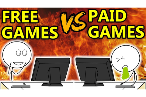 Free Games VS Paid Games - YouTube