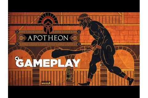 Apotheon Boss Fight Gameplay - YouTube