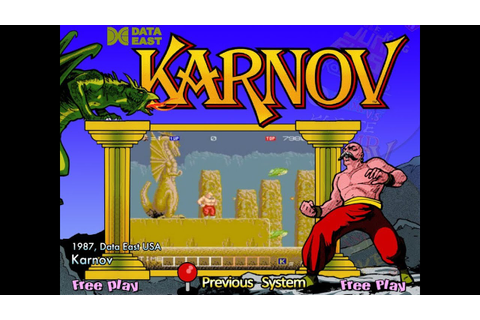 Karnov (Arcade) - YouTube