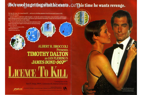 007: Licence to Kill - Commodore 64 - Games Database
