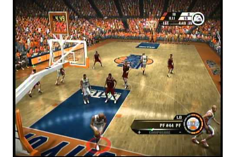 EA Sports NCAA March Madness 07 (X Box 360) Game Play ...