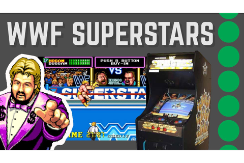 WWF Superstars Arcade | Retro Wrestling Review - YouTube